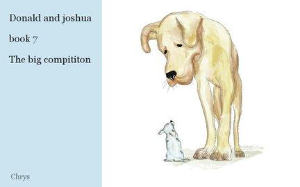 Donald and joshua  book 7  The big compititon