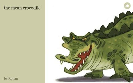 the mean crocodile