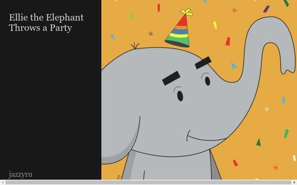 Ellie the Elephant Throws a Party