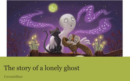 The story of a lonely ghost