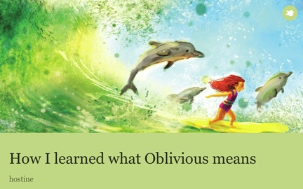 How I learned what Oblivious means