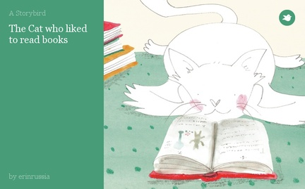 The Cat who liked to read books