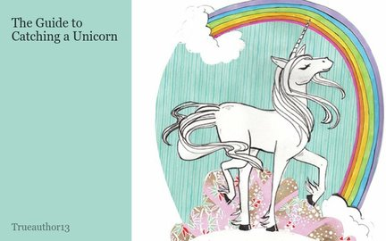 The Guide to Catching a Unicorn