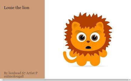 Louie the lion