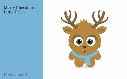 Merry Christmas, Little Deer!