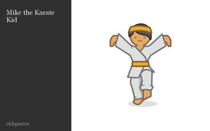 Mike the Karate Kid