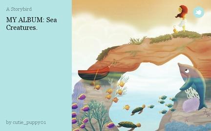 MY ALBUM: Sea Creatures.