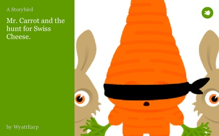 Mr. Carrot and the hunt for Swiss Cheese.