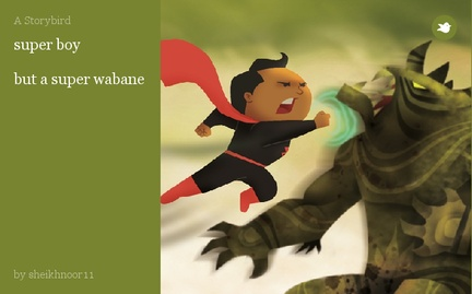 super boy  but a super wabane