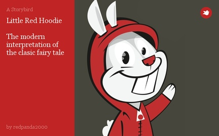 Little Red Hoodie  The modern interpretation of the clasic fairy tale