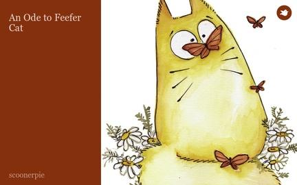 An Ode to Feefer Cat