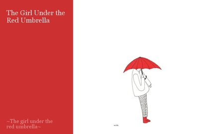 The Girl Under the Red Umbrella