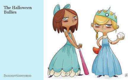 The Halloween Bullies