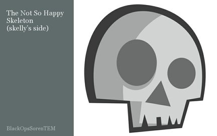 The Not So Happy Skeleton (skelly's side)