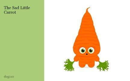 The Sad Little Carrot