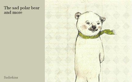 The sad polar bear and more