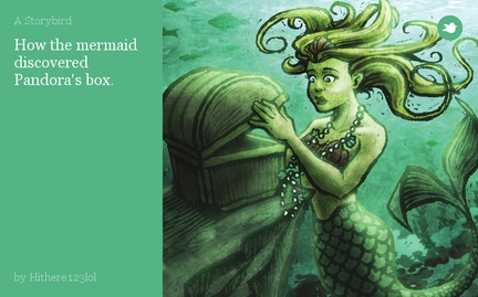 How the mermaid discovered Pandora's box.