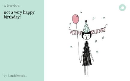 not a very happy birthday!
