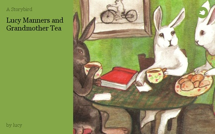 Lucy Manners and Grandmother Tea