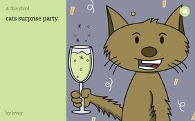 cats surprise party