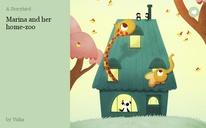 Marina and her home-zoo
