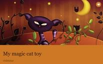 My magic cat toy
