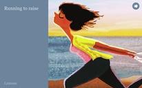 Running to raise