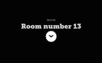 Room number 13