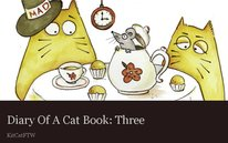 Diary Of A Cat Book: Three