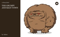 THE GRUMPY AND BAGY TOWN