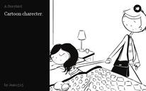 Cartoon charecter.