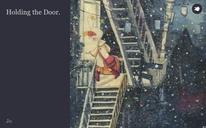 Holding the Door.
