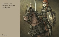How to be a Knight: A Girl's First War