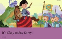 It's Okay to Say Sorry!