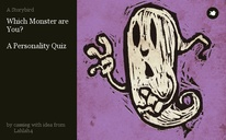 Which Monster are You?   A Personality Quiz