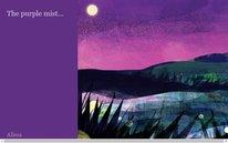 The purple mist...
