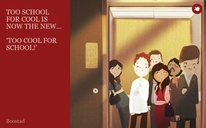 TOO SCHOOL FOR COOL IS NOW THE NEW...  'TOO COOL FOR SCHOOL!'
