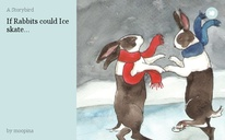 If Rabbits could Ice skate...