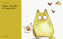 Yellow - the Alley Cat Apprentice