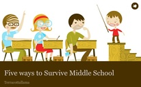 Five ways to Survive Middle School