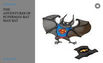 THE ADVENTURES OF SUPERMAN-BATMAN BAT