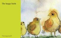 The happy birds