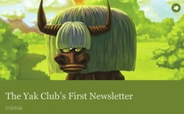 The Yak Club's First Newsletter