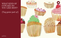 WHAT KIND OF CUPCAKE DO YOU LIKE BEST?  {Tag game part 4!}