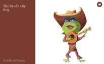 The bandit city frog