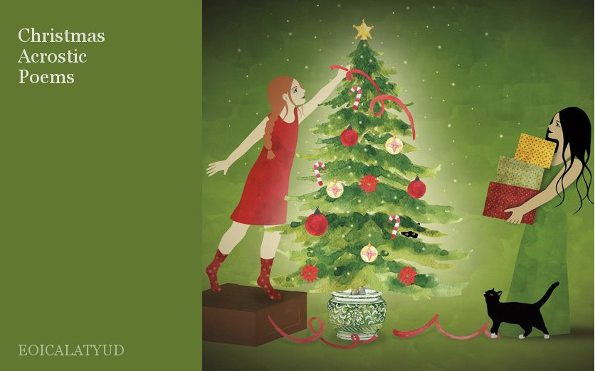 christmas acrostic poems by eoicalatyud storybird
