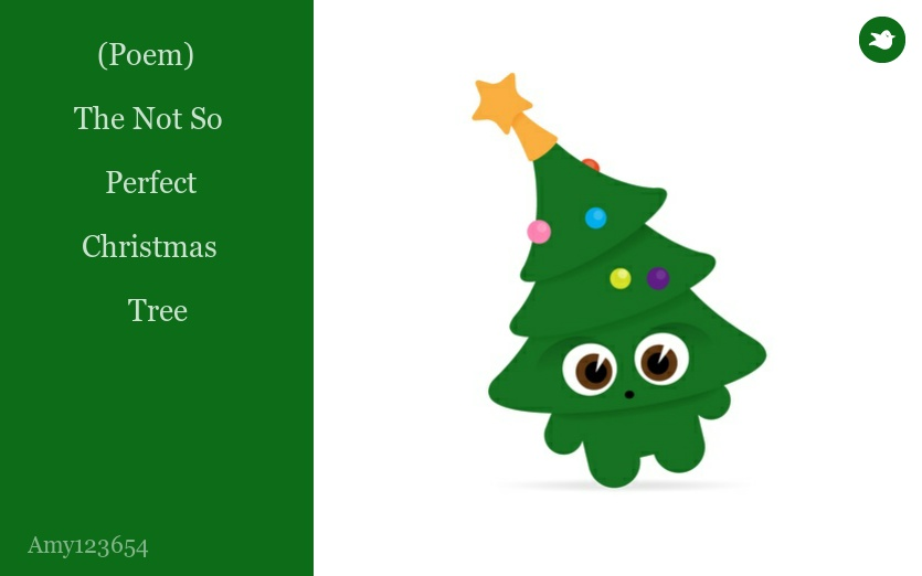 poem the not so perfect christmas tree