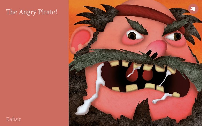 what is a angry pirate