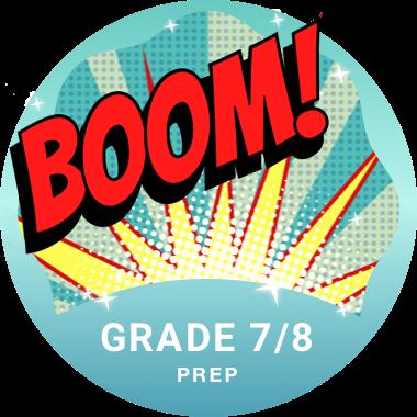 Grade 7/8 Prep