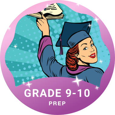 Grade 9-12 Prep